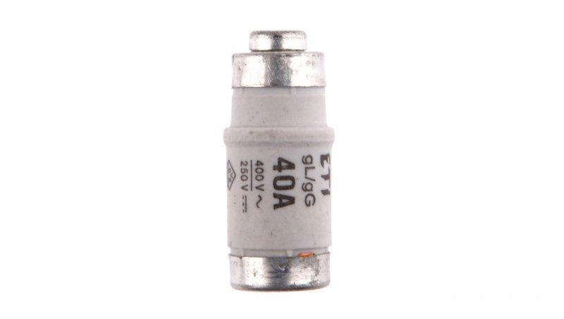 Wkładka bezpiecznikowa D02 40A gG 400V AC/250V DC E18 002212007