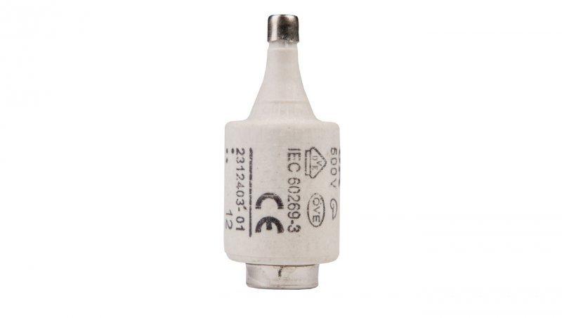 Wkładka bezpiecznikowa 6A DII gG / BiWtz 500V E27 002312403
