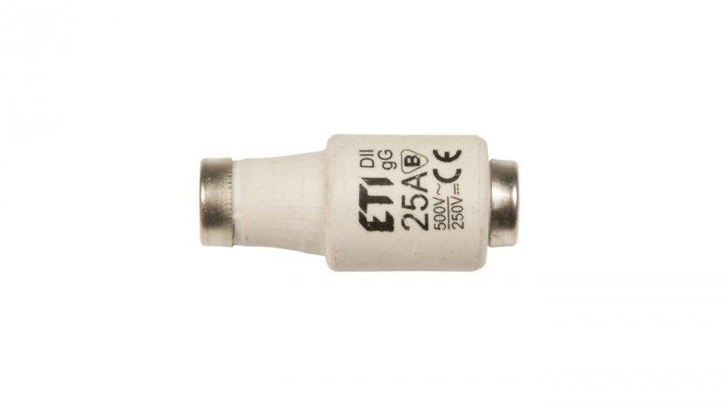 Wkładka bezpiecznikowa 25A DII gG / BiWtz 690V AC/250V DC E27 002312441 /5szt./