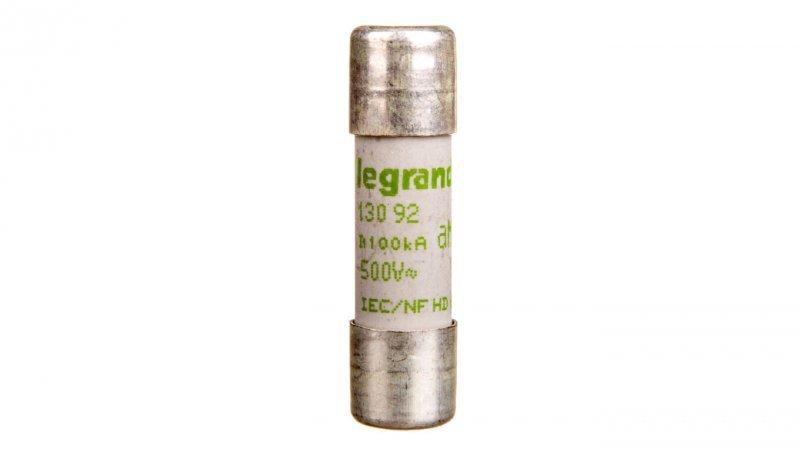 Legrand Wkładka bezpiecznikowa cylindryczna 10x38mm 0,25A aM 500V HPC 013092