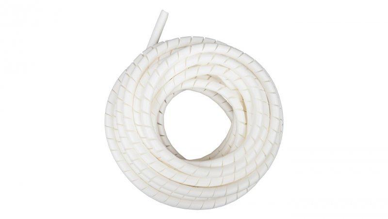Wężyk ochronny spiralny WSN 12/V2 biały E01WS-01010300500 /10m/