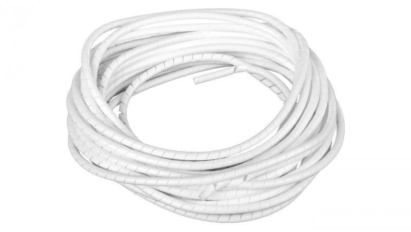 Wężyk ochronny spiralny WSN 6/V2 biały E01WS-01010300200 /10m/