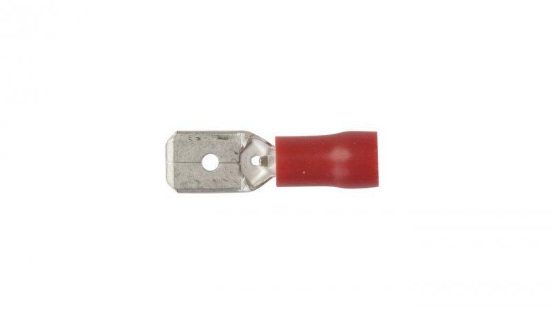 Wsuwka izolowana WI 6,3-1/0,8 PCV E10KN-03020102501 /100szt./