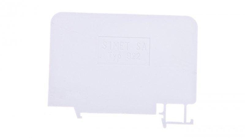 Ścianka rozdzielająca szara T922 17922302 /25szt./