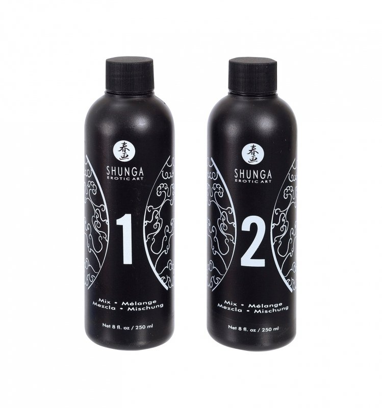 Shunga - Strawberry & Champagne Massage Gel 2 x 250 ml