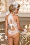 Body Model V-6990 Cathedral Royal wedding White - Axami