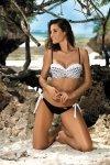Kostium kąpielowy Joan Nero-Bianco M-411 (1)