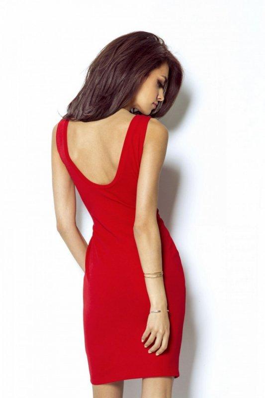 Sukienka Model Linda 206 Red - IVON