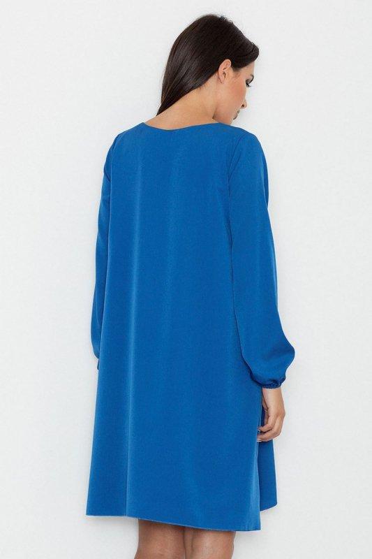 Sukienka Model M566 Blue - Figl
