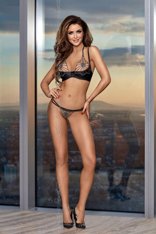 Stringi Model V-8368 Sky is the limit Black - Axami