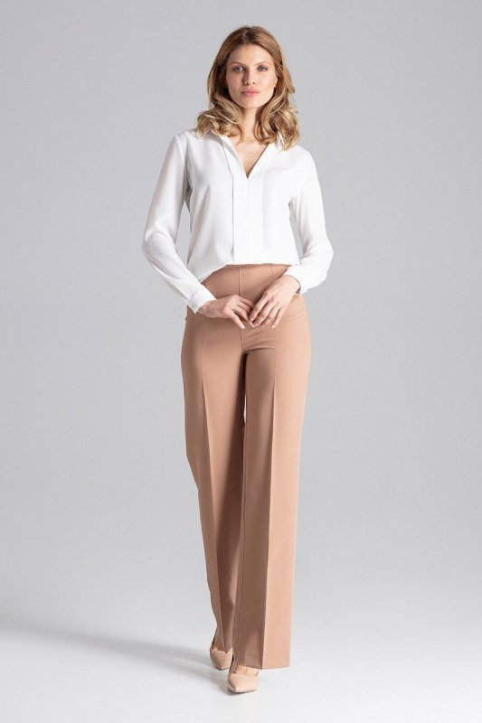 Spodnie Damskie Model M657 Brown - Figl