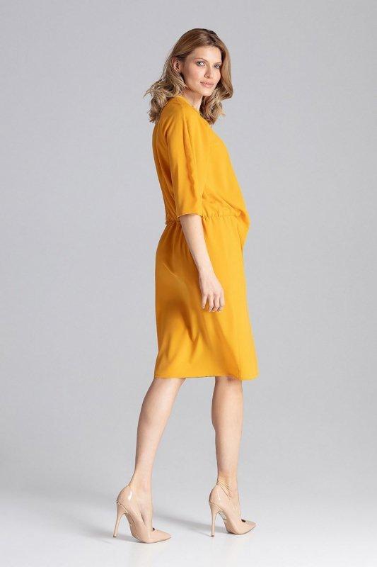 Sukienka Model M656 Musztarda - Figl