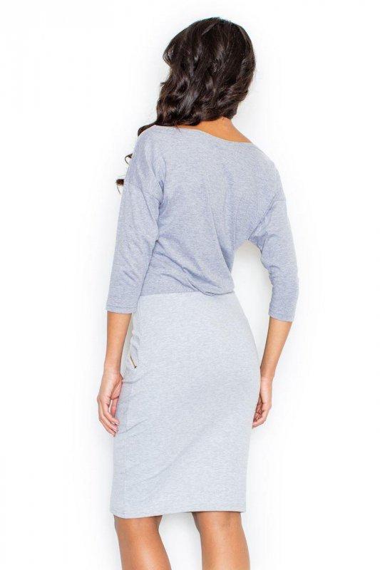 Sukienka Model 252 Grey - Figl