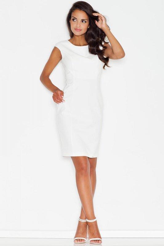Sukienka Model 378 Ecru - Figl