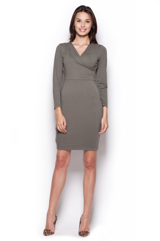 Sukienka Model 264 Oliwka - Figl