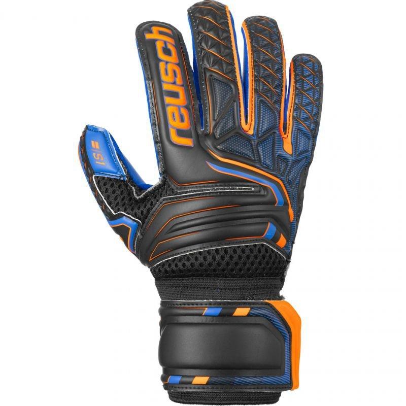 Rękawice bramkarskie Reusch Attrakt S1 Roll Finger Junior 5072217 7083