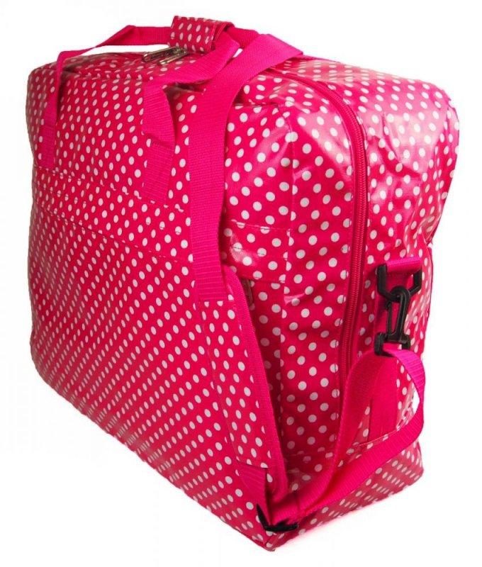 Duża torba podróżna bagaż podręczny 2001 Kropki