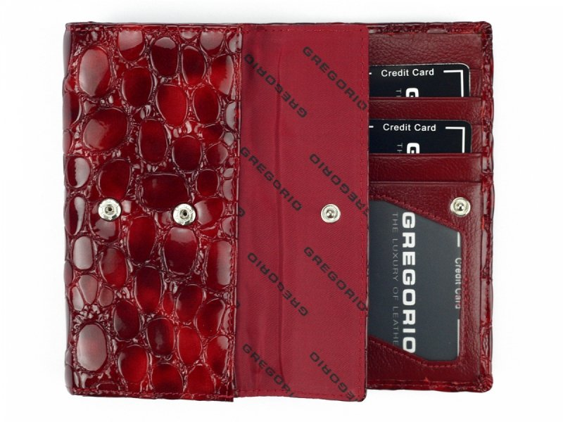 Damski Skórzany portfel Gregorio FZ-107
