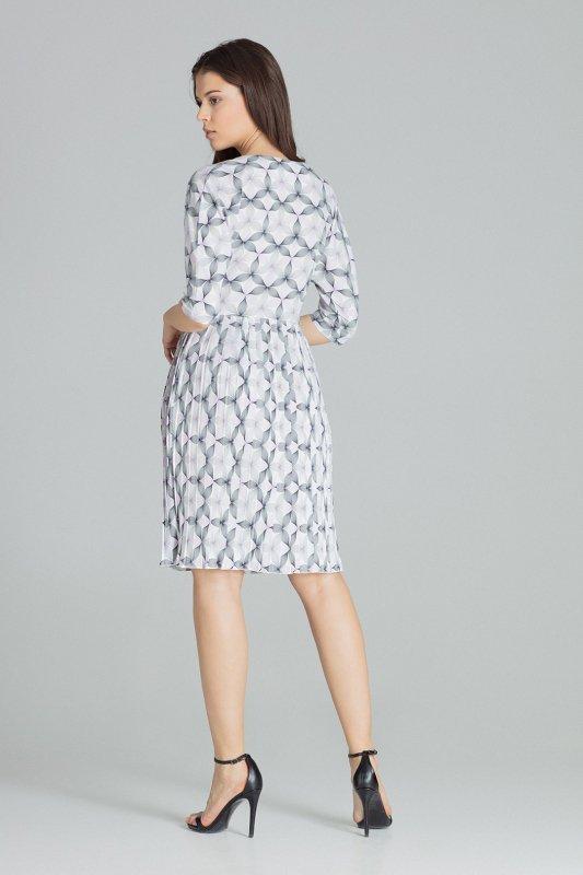 Sukienka L076 Wzór 113 M
