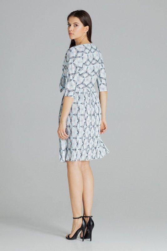 Sukienka L076 Wzór 114 M
