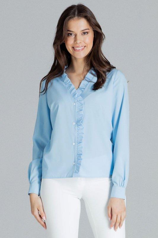 Bluzka L077 Niebieski L