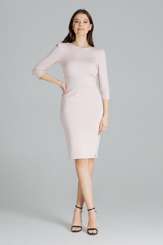 Sukienka L079 Róż S