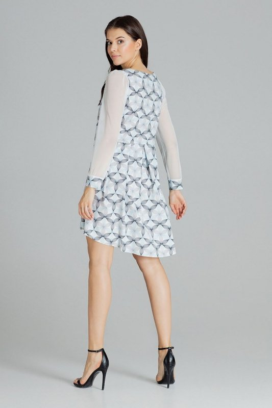Sukienka L082 Wzór 114 M