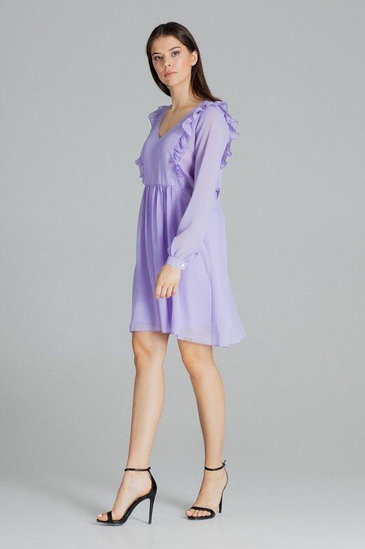 Sukienka L083 Fiolet L