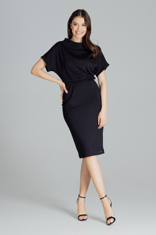Sukienka L087 Czarny M