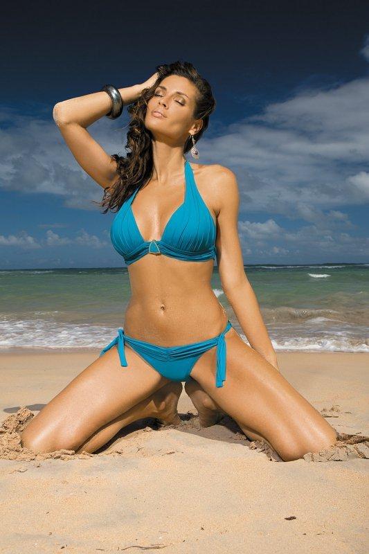 Kostium kąpielowy Liza Curacao M-252 Ciemny morski (210)