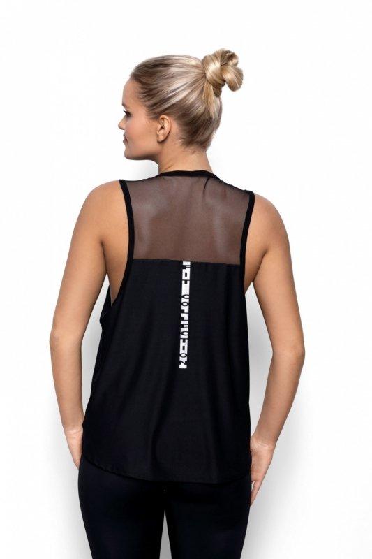 Koszulka Fit   Abel czarny - Eldar