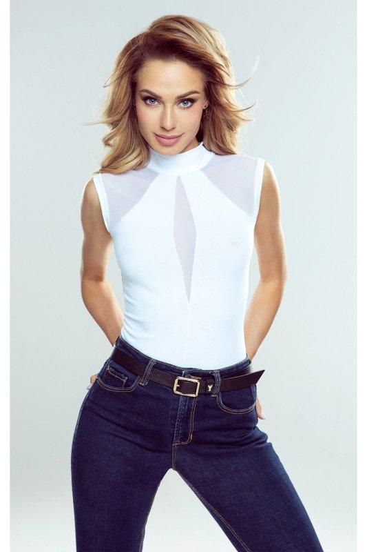 Bluzka   Chanel biały - Eldar