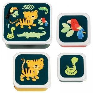 Lunchbox Tygrysek zestaw -  4 szt.