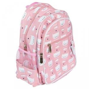 Plecak Kotki w kolorze różowym