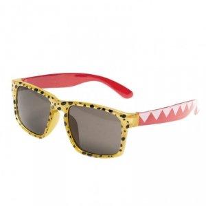Okulary dziecięce 100% UV Cheetah yellow - Rockahula Kids