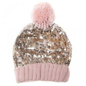 Rockahula Kids - czapka zimowa dla dziewczynki Shimmer Sequin 7 - 10 lat