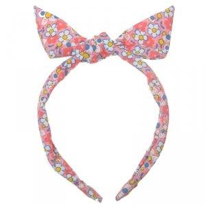 Opaska Kokarda  na włosy dla dziewczynki - Kwiaty - Rockahula Kids