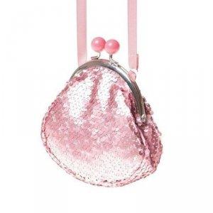 Torebka brokatowa dla dziewczynki Retro Pink - Rockahula Kids