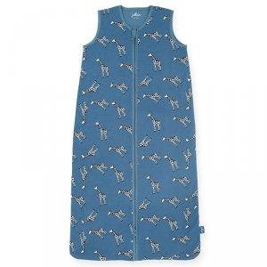 Śpiworek niemowlęcy letni Summer ŻYRAFKI Jeans Blue 110 cm - Jollein
