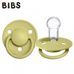 Smoczek uspokajający silikonowy dla dziecka -BIBS DE LUX MEADOW ONE SIZE
