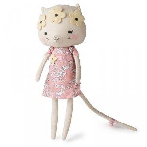 Przytulanka dla dziecka Panna Kotek Kitty w kwietnym wianku 33 cm - Picca LouLou