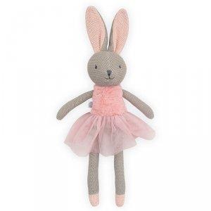 Przytulanka dla dziewczynki króliczka Nola - Jollein