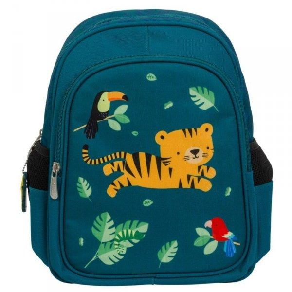 Plecak dla dziecka Tygrysek w kolorze niebieskim