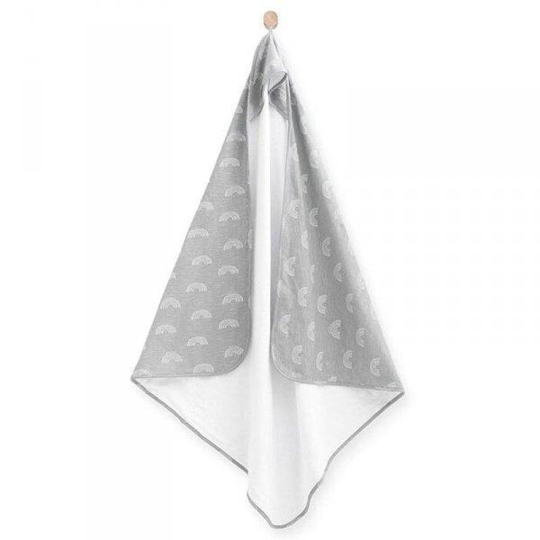 Jollein - ręcznik kąpielowy 100 x 100 Rainbow Grey