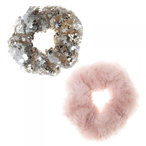 Rockahula Kids - gumki do włosów dla dziewczynki Shimmer Sequin Scrunchie
