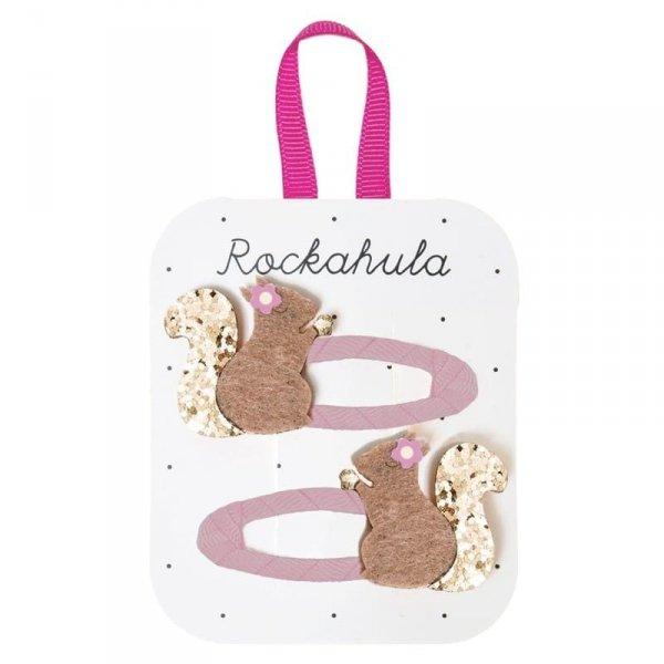 Rockahula Kids - spinki do włosów dla dziewczynki Suki Squirrel