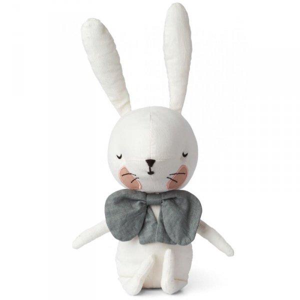 Przytulanka dla dziecka Pan Królik Biały 18 cm w Luksusowym Pudełku Upominkowym - Picca LouLou