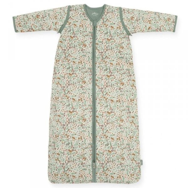 Jollein - Śpiworek niemowlęcy całoroczny 4 pory roku z odpinanymi rękawami Bloom 110 cm