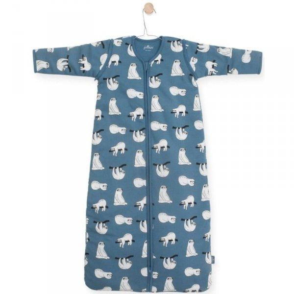 Jollein - Śpiworek niemowlęcy całoroczny 4 pory roku z odpinanymi rękawami Lazybones 70 cm
