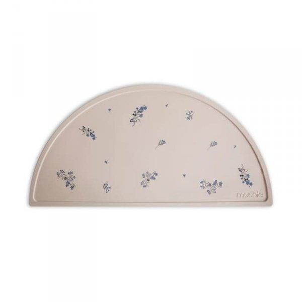Podkładka silikonowa na stół Lilac Flowers- Mushie